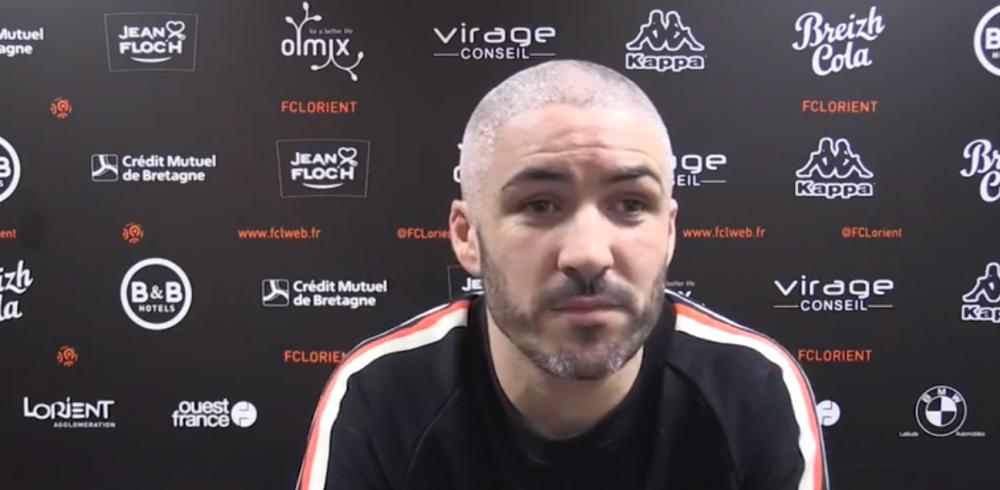 Lorient/PSG - Lemoine explique que «beaucoup de joueurs étaient super contents de jouer Paris, moi c'était un peu moins le cas.»