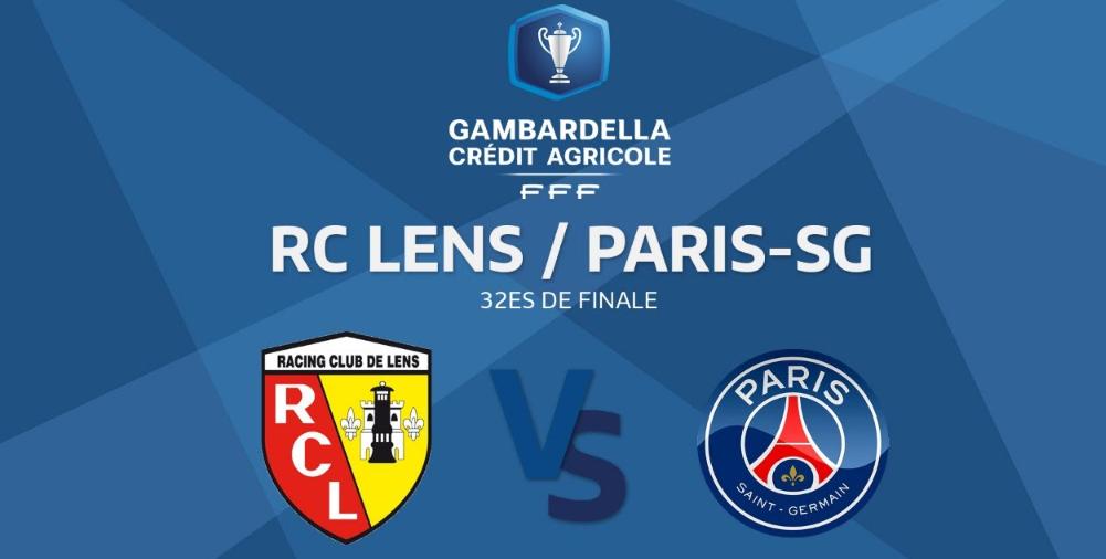 Coupe Gambardella - Suivez le 32e de finale Lens/PSG en direct ce dimanche à 14h30