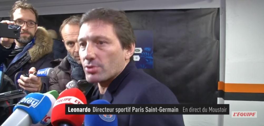 Leonardo annonce que Cavani a demandé à quitter le PSG et fait le point sur les rumeurs