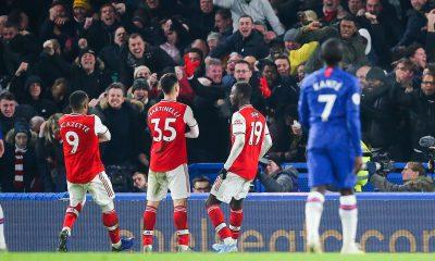 Martinelli a imité la célébration de Mbappé après son but face à Chelsea