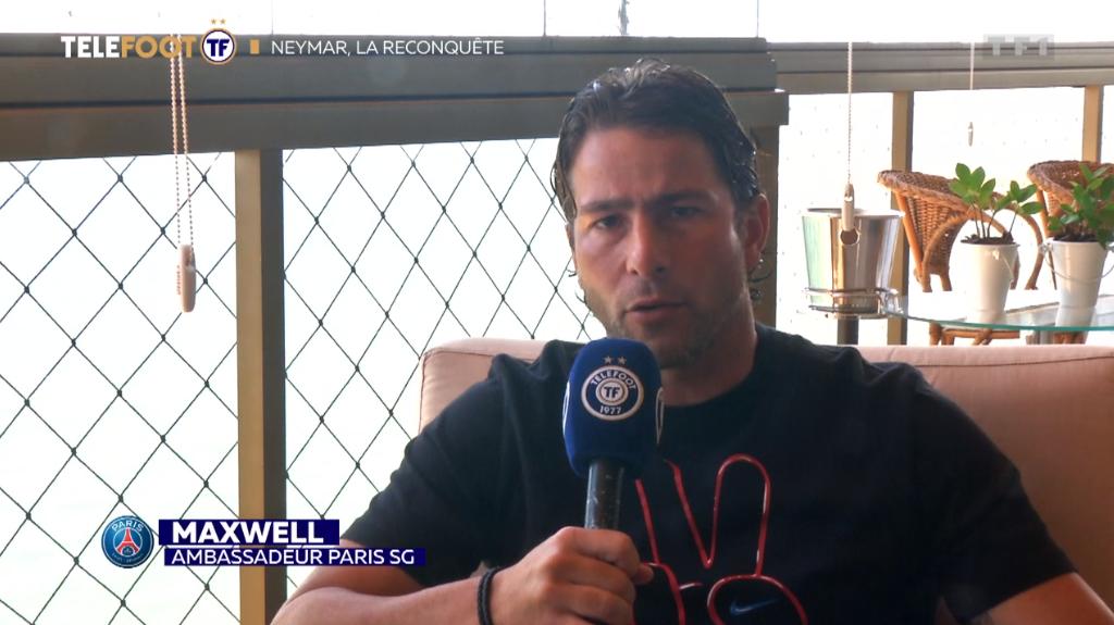Maxwell se réjouit de voir Neymar jouer au PSG et espère qu'il va prolonger