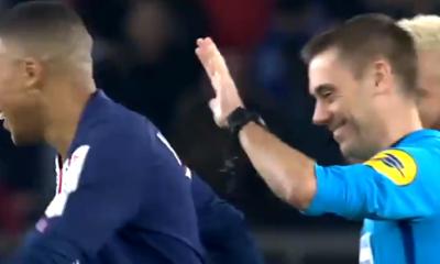 Le PSG s'amuse du vent mis par Mbappé à Turpin durant la victoire contre Saint-Etienne