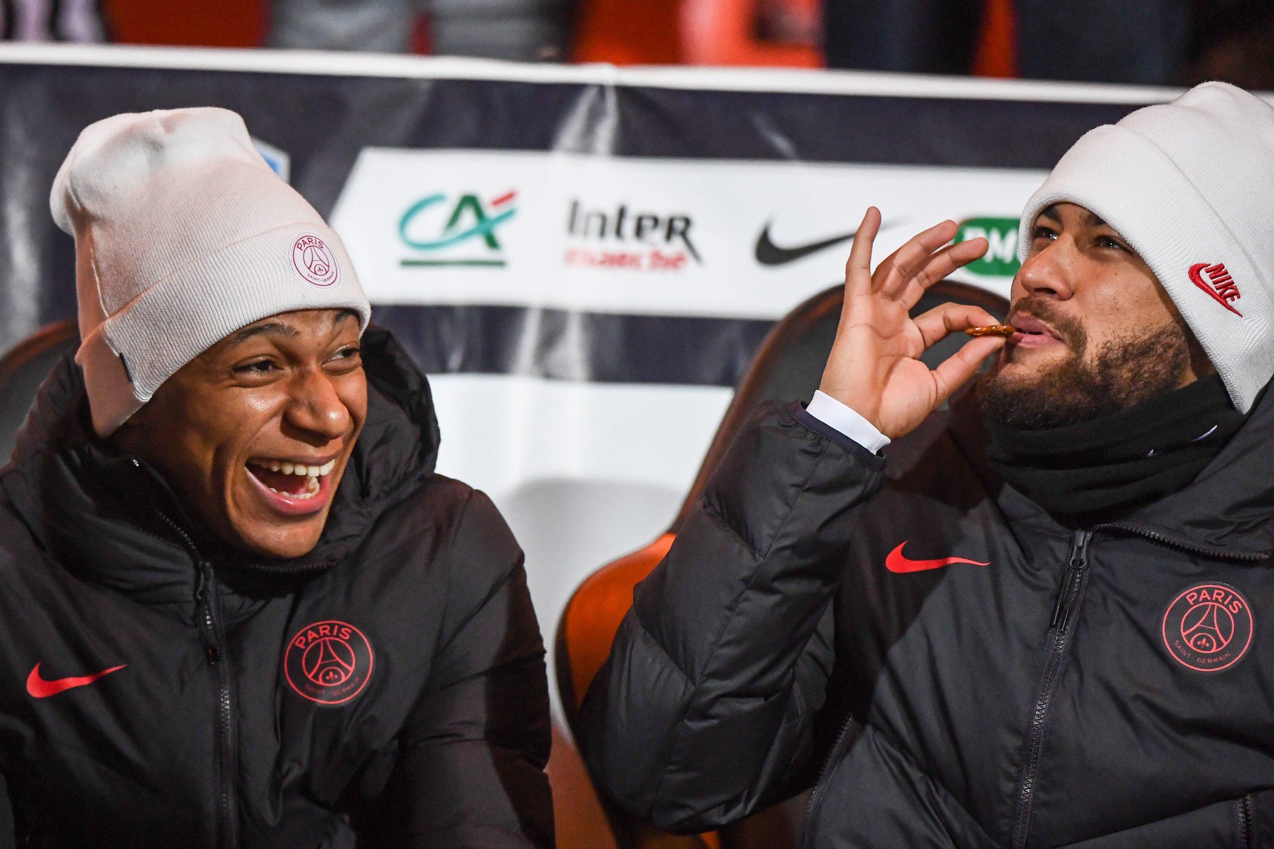 """Mbappé évoque les progrès de Neymar en français et leur relation """"fusionnelle"""""""