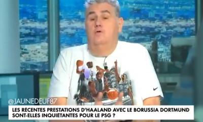 """Ménès fait l'éloge d'Håland, mais rappelle que le PSG aussi est armé et souligne la """"psychose"""" qui entoure Paris"""