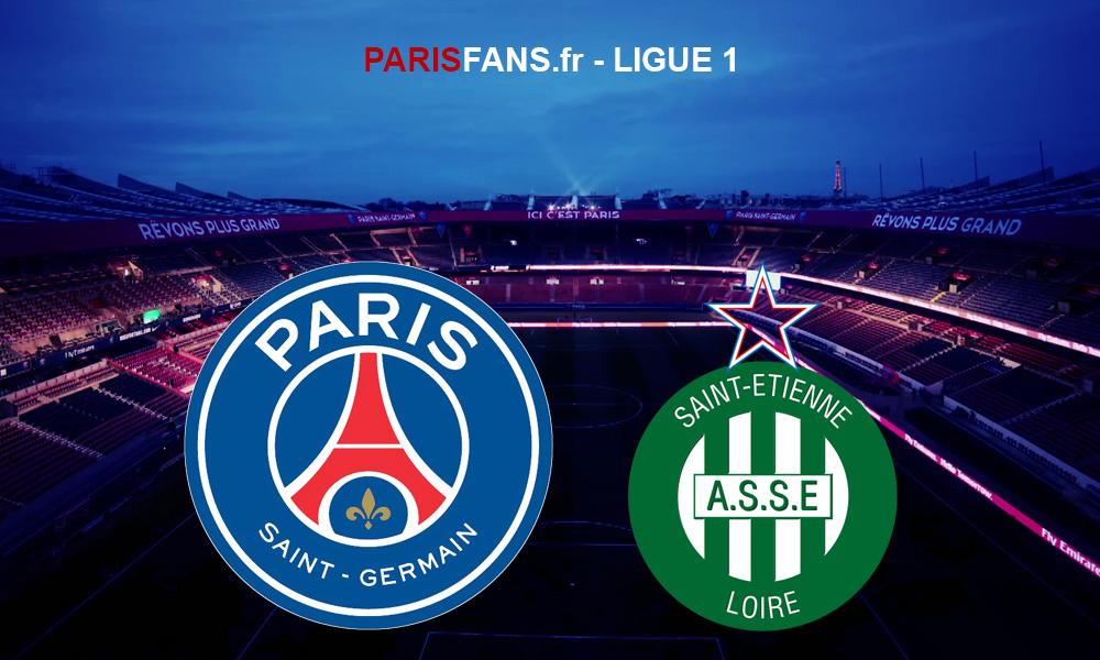 PSG/Saint-Etienne - Chaîne et horaire de diffusion