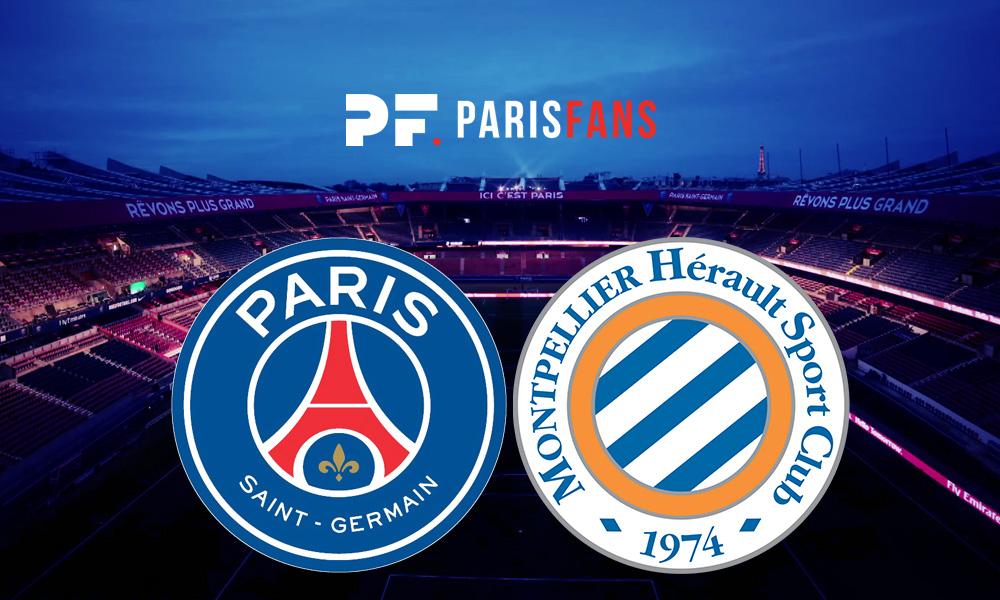 PSG/Montpellier - Le groupe parisien : avec Cavani, sans Herrera