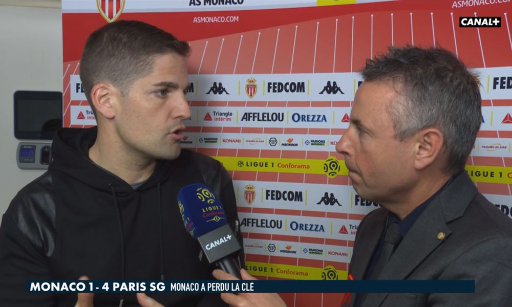 "Monaco/PSG - Robert Moreno s'incline devant ""la plus grande équipe de Ligue 1"""