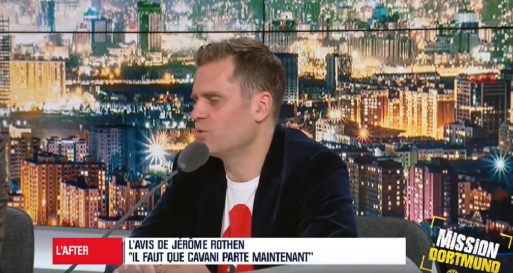 """Rothen estime que le PSG doit """"rattraper les erreurs du passé"""" en laissant partir Cavani"""