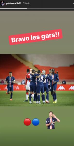 Les images du PSG ce mercredi : célébrations de la victoire à Monaco !