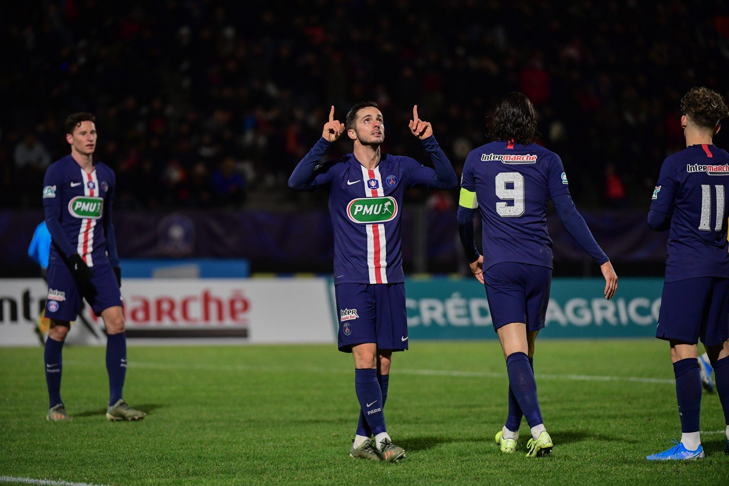 Da Fonseca fait l'éloge de Sarabia «Je vais à un match de foot pour voir ce genre de joueur»