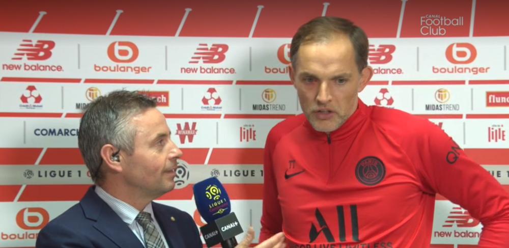 LOSC/PSG - Tuchel revient sur le choix de l'arbitre, la performance de Neymar, les blessures et évoque Dortmund avec Håland