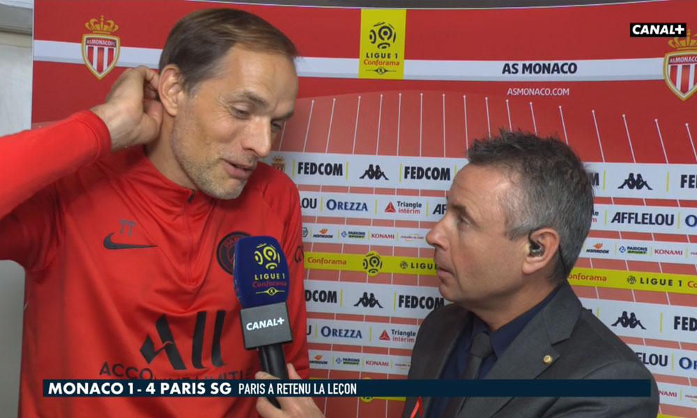 Monaco/PSG - Tuchel affiche sa satisfaction après la victoire et fait le point sur le dossier Cavani