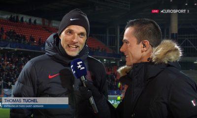 """Lorient/PSG - Tuchel se dit très heureux de la qualification dans la douleur dans un match """"de merde"""""""