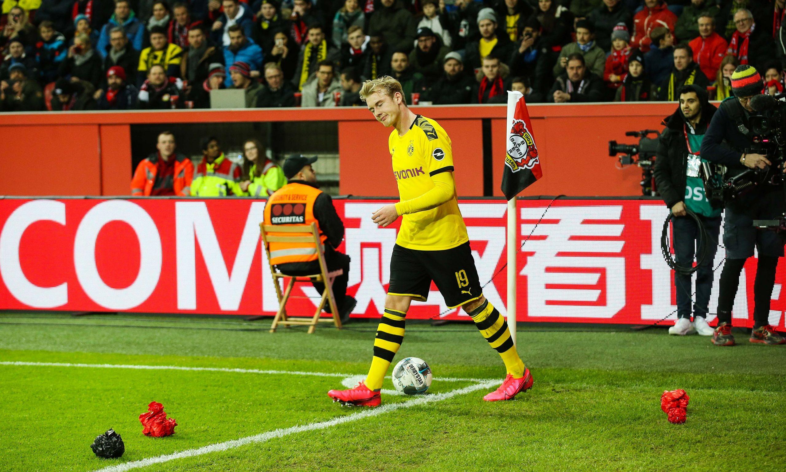 Julian Brandt devrait aussi manquer le 8e de finale retour entre le PSG et Dortmund