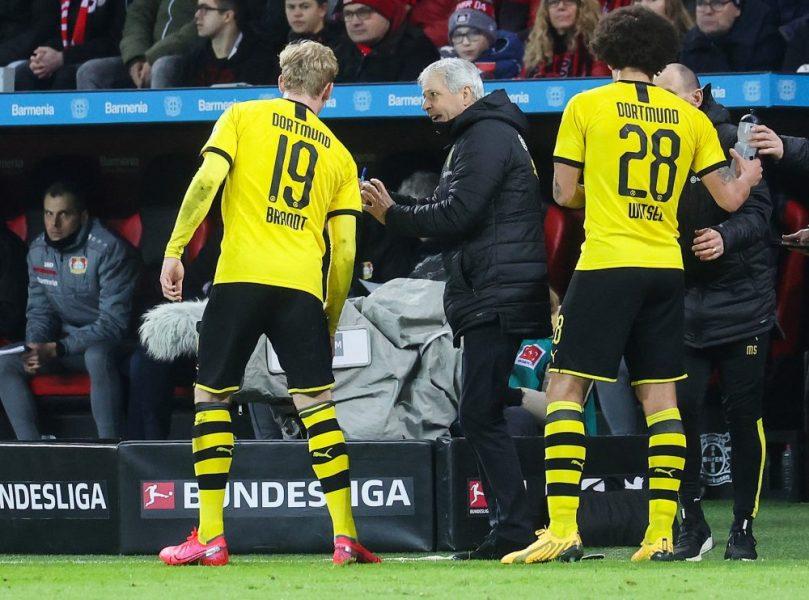 Dortmund/PSG - Julian Brandt est incertain après sa blessure contre le Bayer Leverkusen