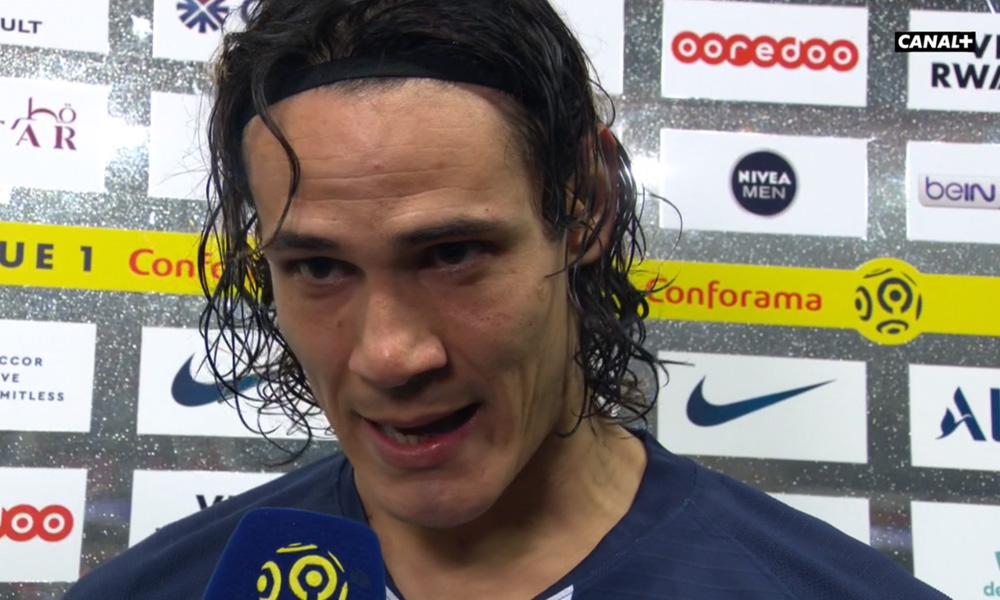 PSG/Bordeaux - Cavani ému aux larmes «c'est un moment très spécial»