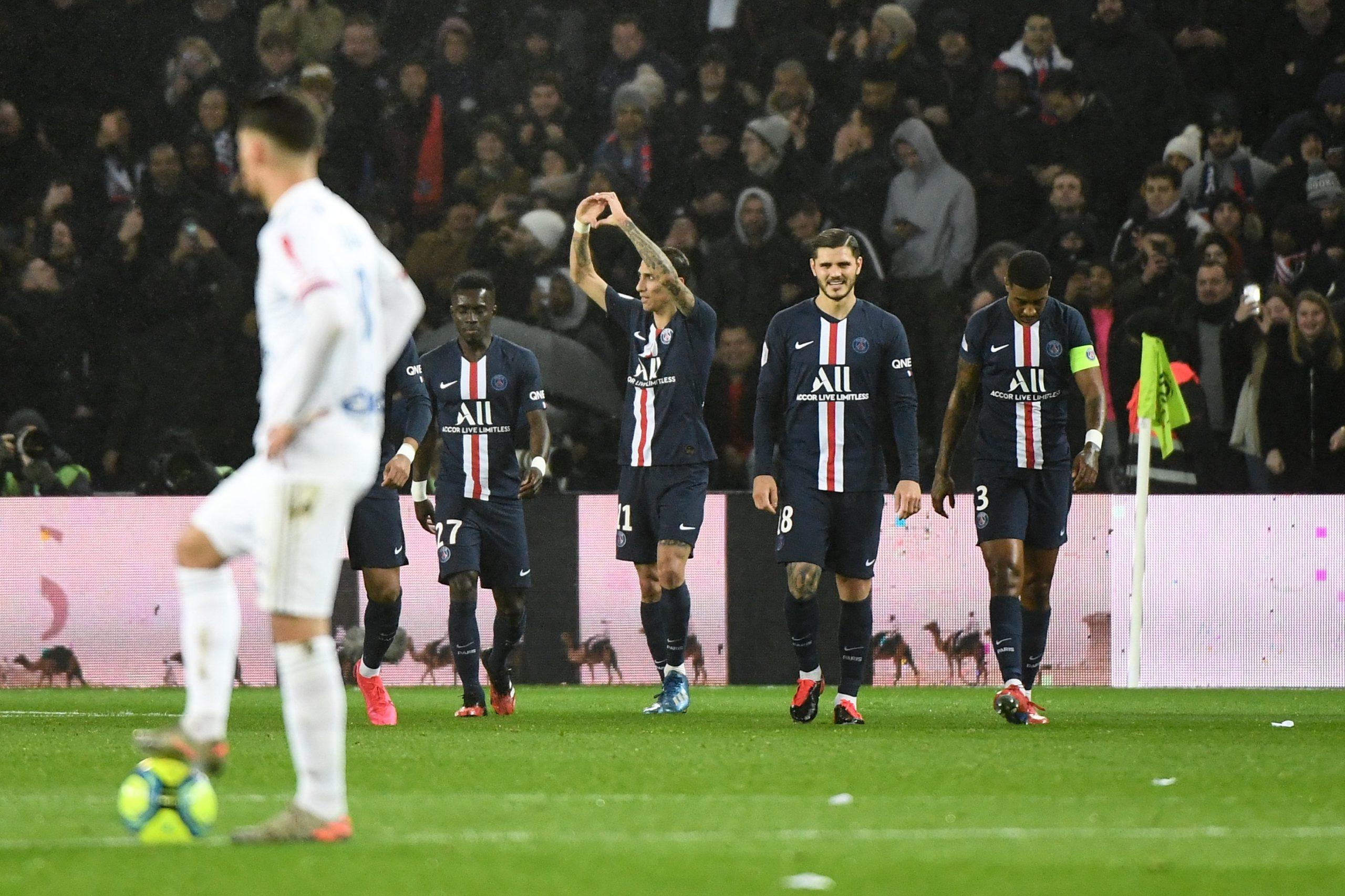 PSG/OL - Les notes des Parisiens dans la presse : Di Maria homme du match, Kimpembe en difficulté