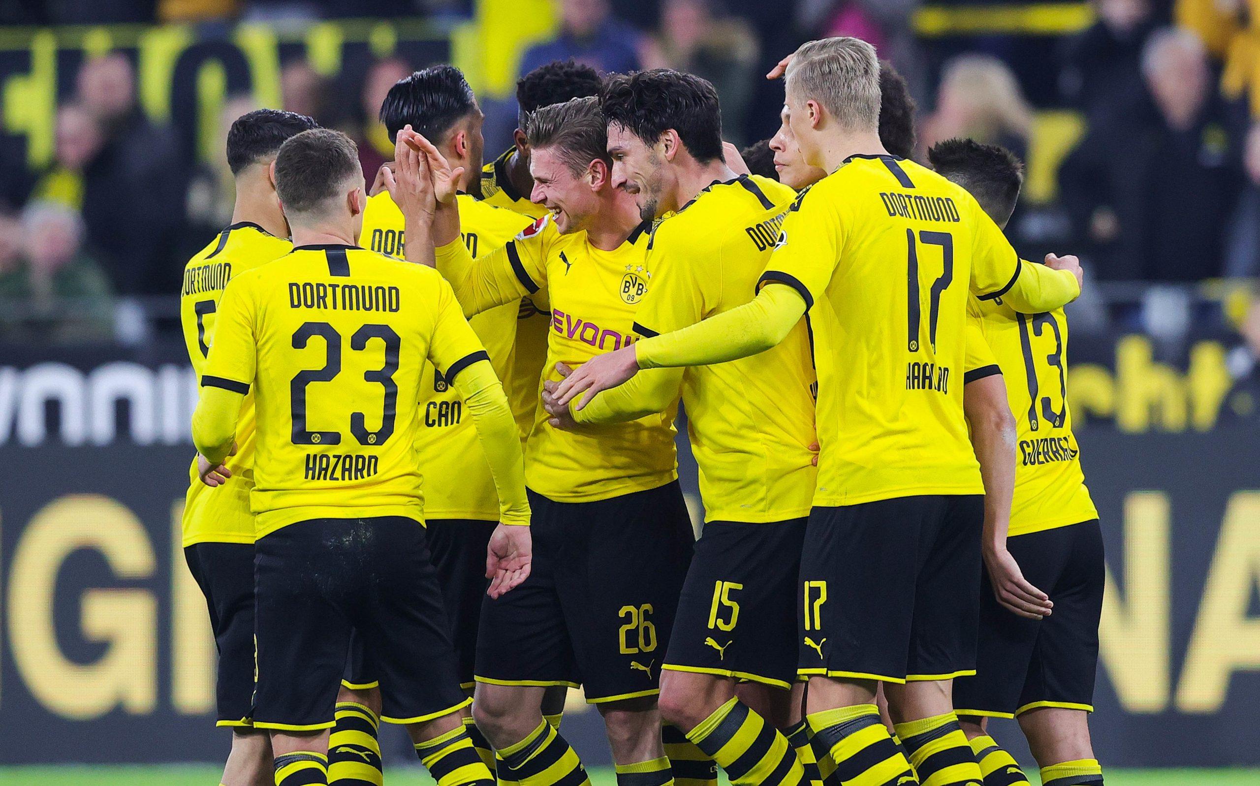 Dortmund balaie Francfort avant de recevoir le PSG
