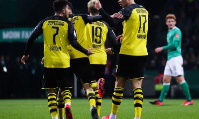 Dortmund gagne, Håland marque et Brandt rejoue