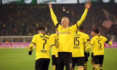 Dortmund s'impose encore avec un festival offensif et des buts de Håland