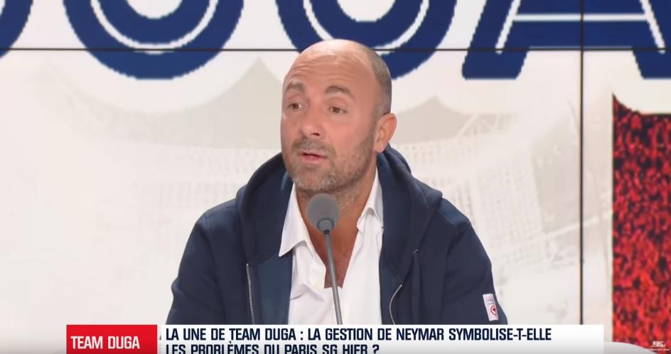 """Dugarry critique le PSG pour la gestion de Neymar """"il y a la peur dans ce club"""""""