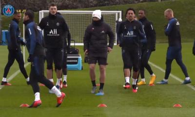 Meunier et Diallo de retour à l'entraînement du PSG, Dagba toujours absent