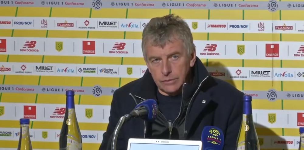 """Nantes/PSG - Gourcuff regrette le 2e but encaissé mais souligne que son équipe a su """"tenir tête"""" aux Parisiens"""