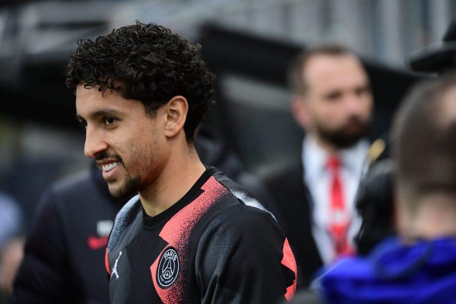 Marquinhos heureux d'avoir pu retrouver les terrains avant Dortmund