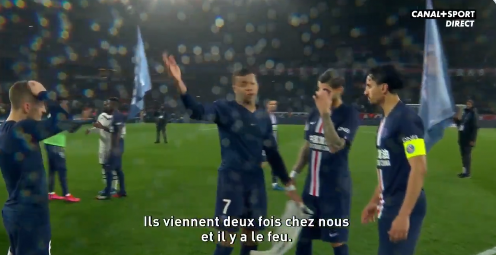"""Mbappé donne des conseils à Marquinhos """"il faut qu'on soit plus tranquilles"""""""