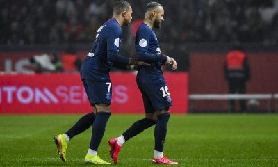 La statistique de Canal+ sur la baisse en efforts défensifs de Mbappé et Neymar