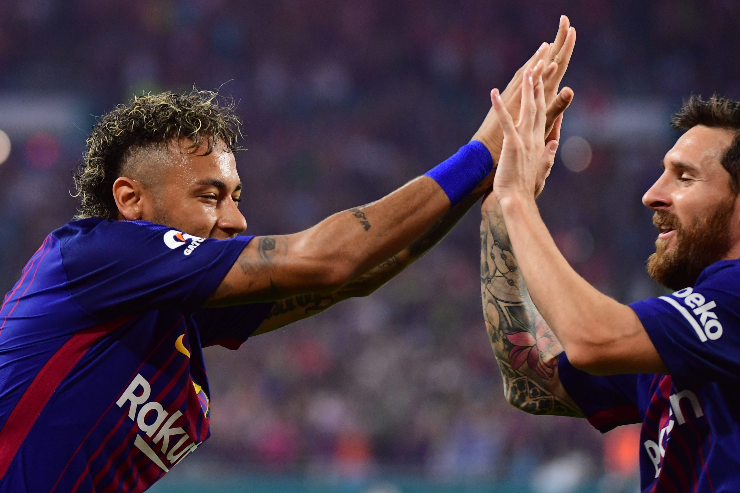 """Messi annonce que Neymar """"a très envie de revenir"""" au Barça"""