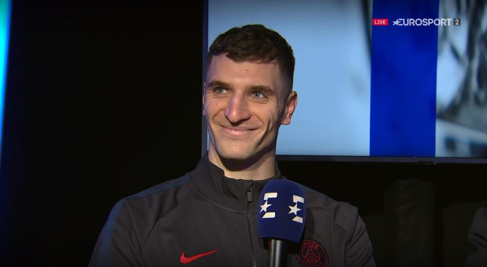 Meunier se réjouit de la victoire à Dijon et évoque Dortmund «difficile de ne pas y penser.»