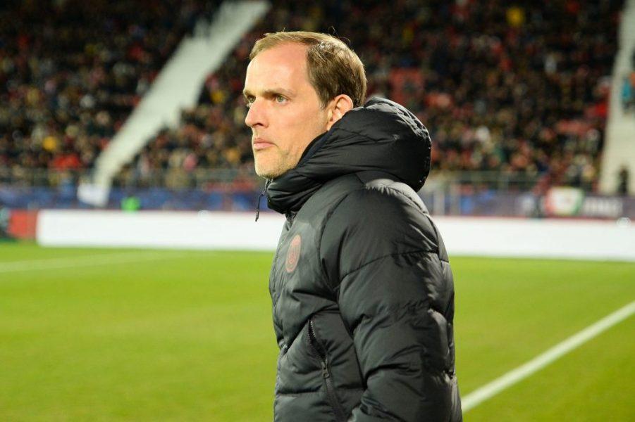 Tuchel est critiqué par l'équipe parisienne, selon UOL Esporte