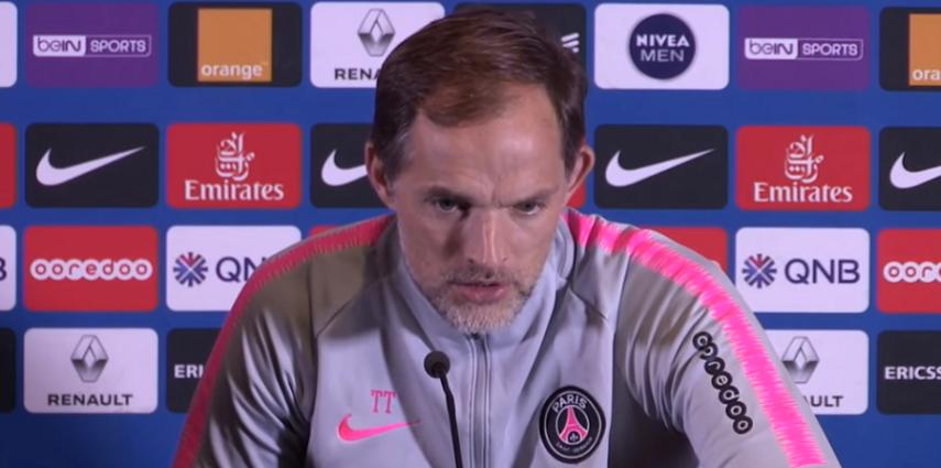 PSG/OL - Tuchel analyse la performance parisienne et se réjouit du but de Cavani