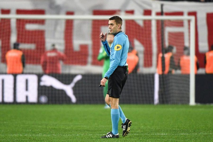 PSG/OL - Les statistiques de l'arbitre : Turpin met peu de jaunes, mais n'hésite pas pour les rouges et penaltys