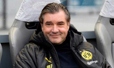 Michael Zorc souligne la supériorité de Dortmund à l'aller et est confiant pour le retour