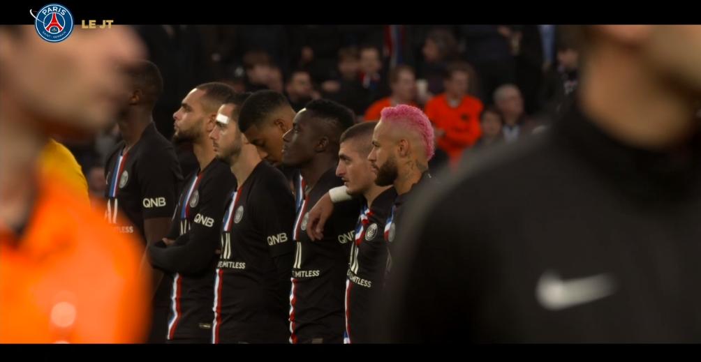 Les images du PSG ce lundi : célébrations, Marquinhos et Bernat sur le terrain, et conférence de presse