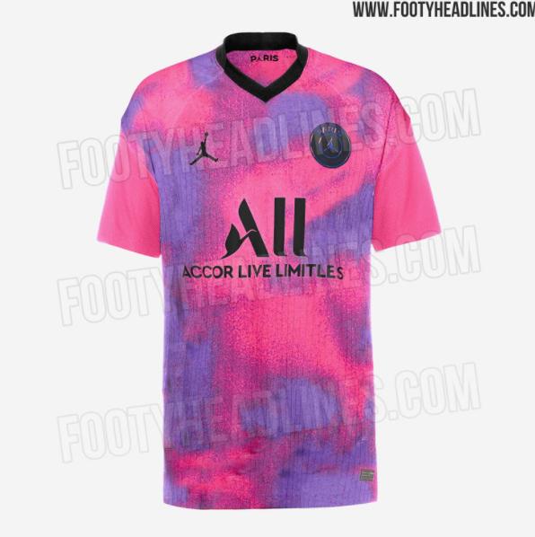Le 4e maillot du PSG sur la saison 2020-2021 devrait être à dominante rose