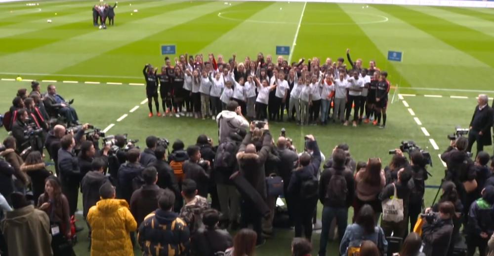 Les images du PSG ce dimanche : repos, motivation et journée internationale de la femme