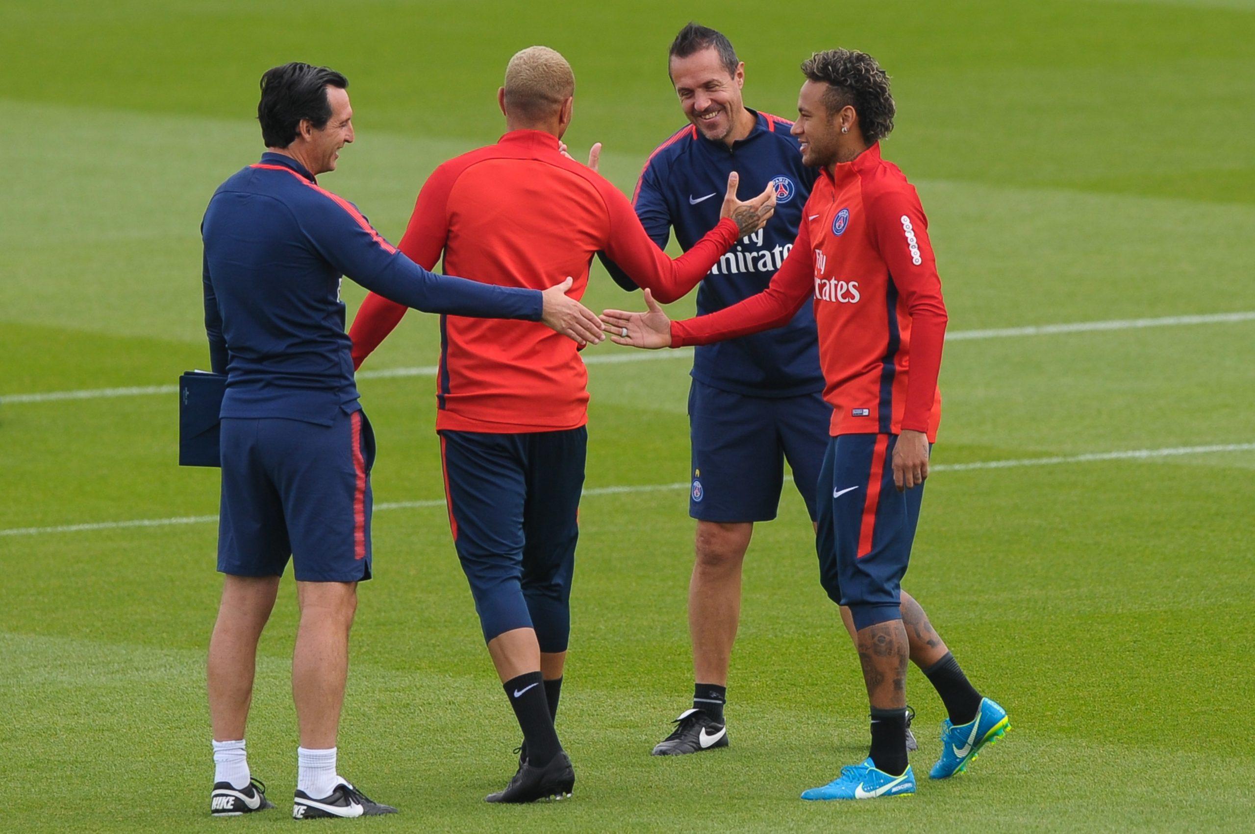 Emery évoque les grands joueurs qu'il a côtoyés, avec Neymar au-dessus de Mbappé
