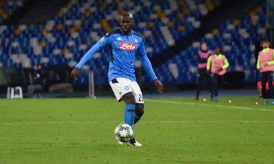 Mercatou - Naples laissera partir Koulibaly pour 80 millions d'euros, selon Il Mattino