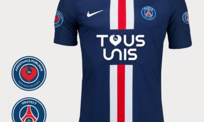 """Le PSG a vendu tous ses maillots """"Tous unis"""" et va verser plus de 200 000 euros à l'APHP"""