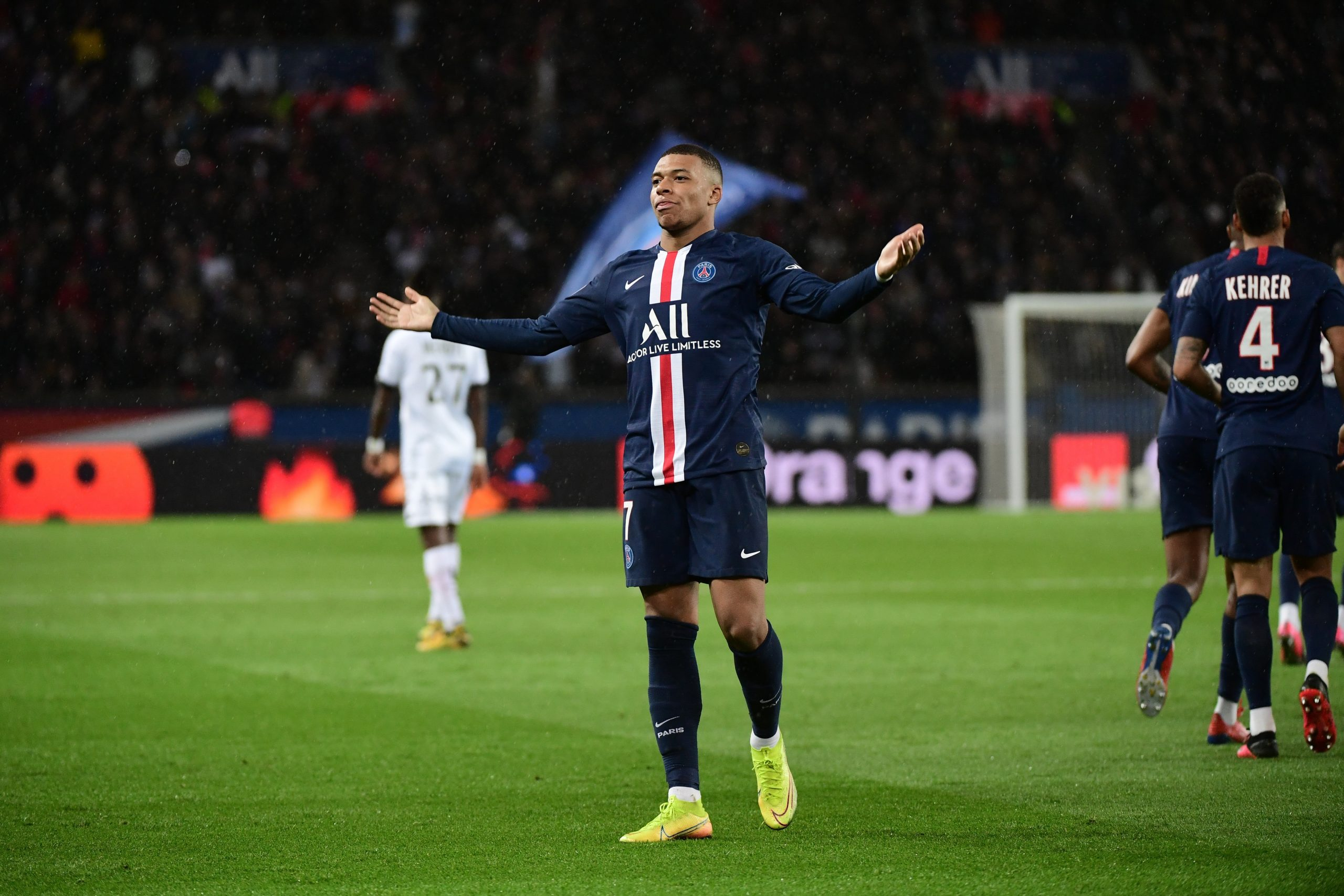 Mbappé a choisi de garder le silence — PSG