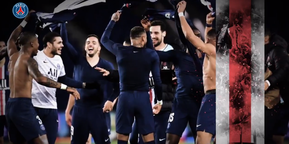 Les images du PSG ce mercredi : qualification, célébrations et chambrage