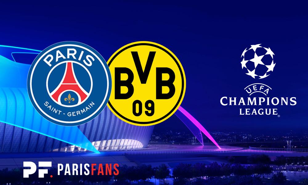 PSG/Dortmund - Suivez l'avant-match des Parisiens au Parc des Princes à partir de 19h45