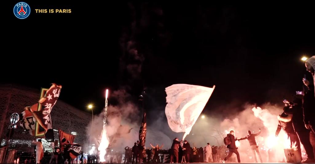 Les images du PSG ce samedi : repos en famille, exercice et This is Paris