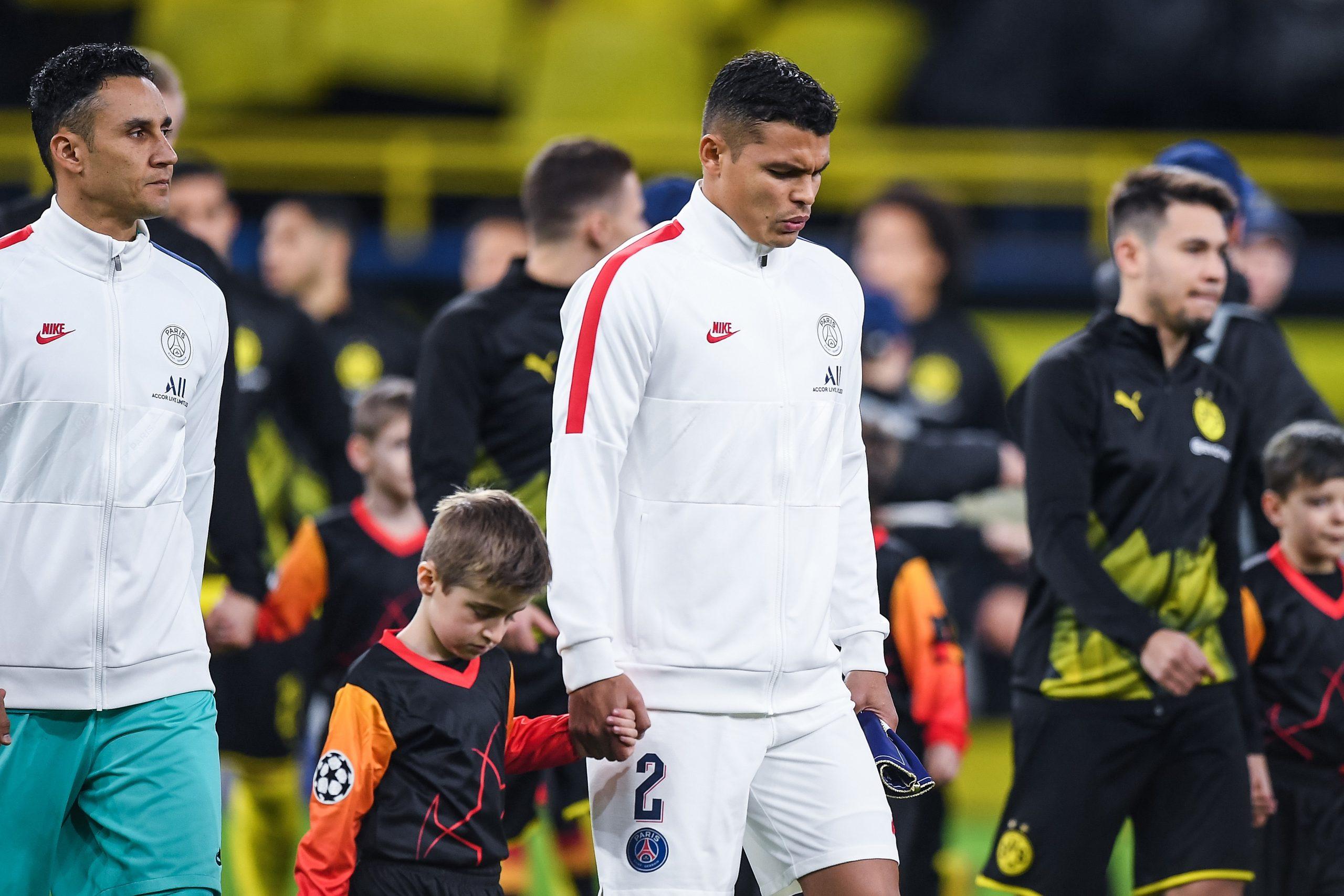 PSG/Dortmund - Thiago Silva «postule» à une place sur le terrain, affirme RMC Sport