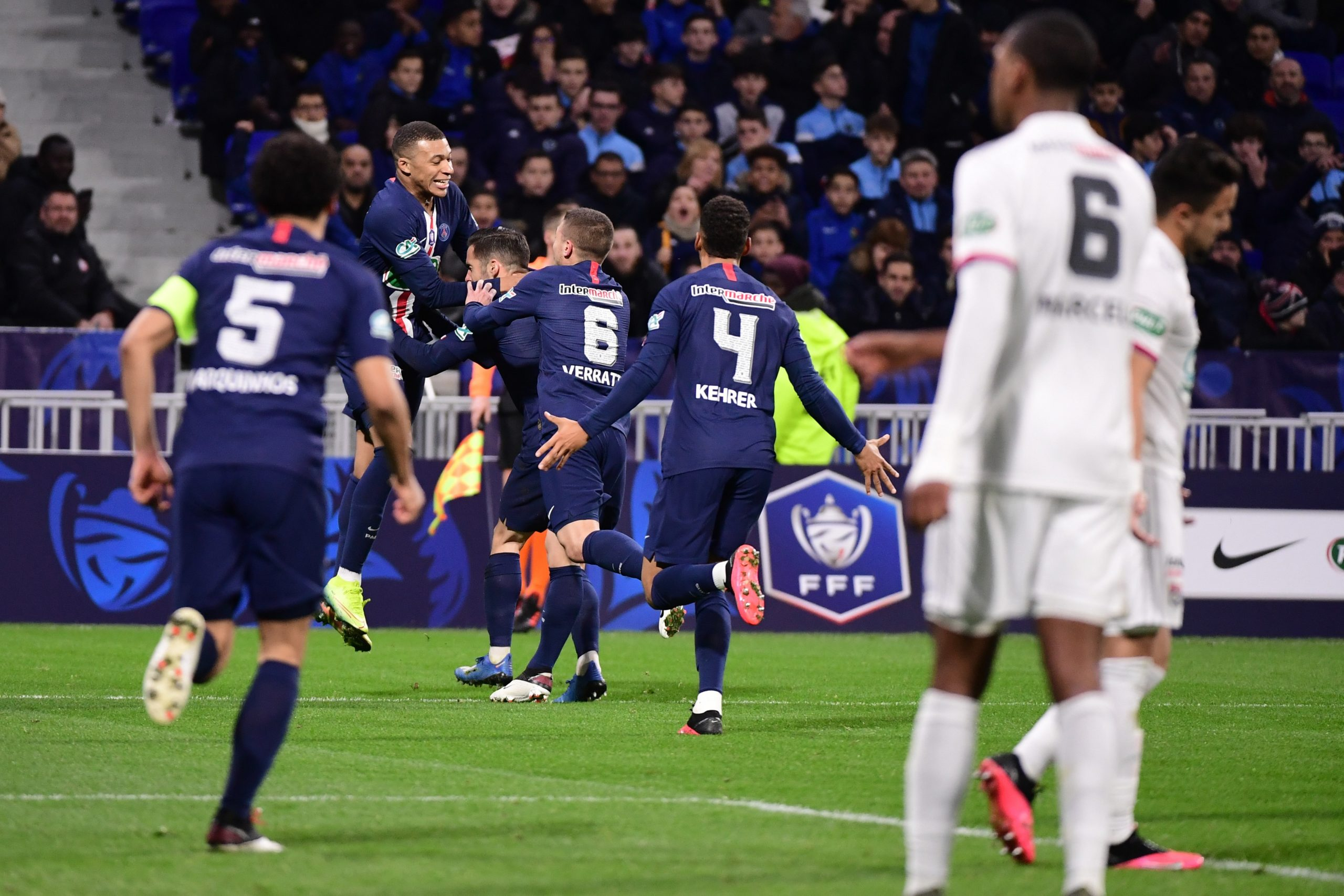 Resume Ol Psg 1 5 La Video Des Buts Et Temps Forts Du Match