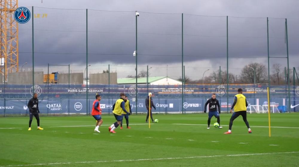 Les images du PSG ce jeudi : victoire face à Lyon et entraînement avec Dagba