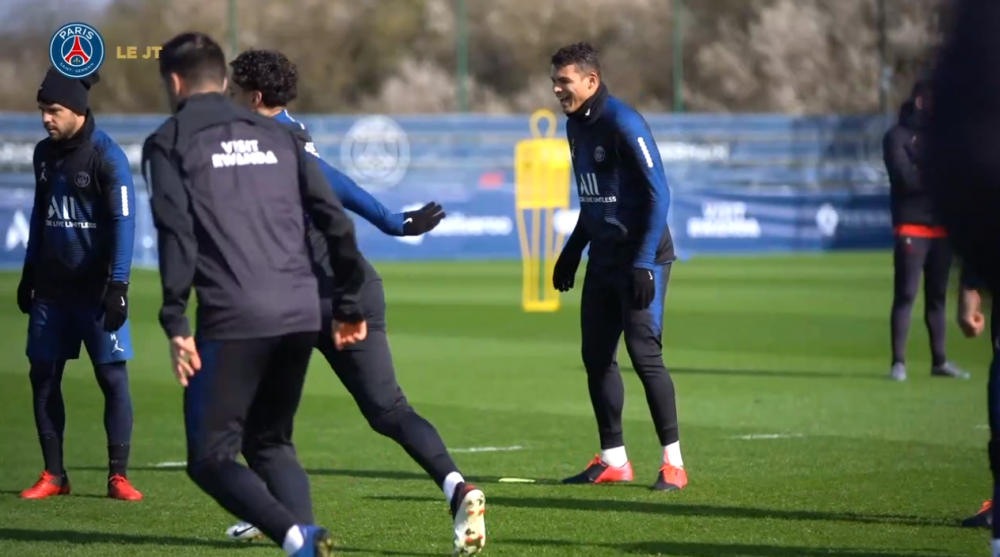 Les images du PSG ce lundi : entraînement pour préparer la réception de Dortmund